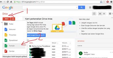 Formulir Google Drive